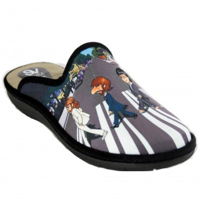 Salvi Confort 09T-365 - House Slippers for Men by The Beatles Musical Group