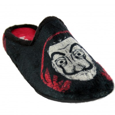Vulcabicha 1808 - Men's House Slippers from the La Casa de Papel Series with Dalí and Bella Ciao