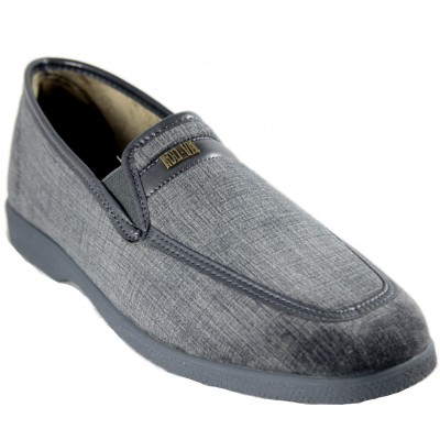 Rodevil 624 - Comfortable Soft Textile and Lined Classic Moccasin Shoe