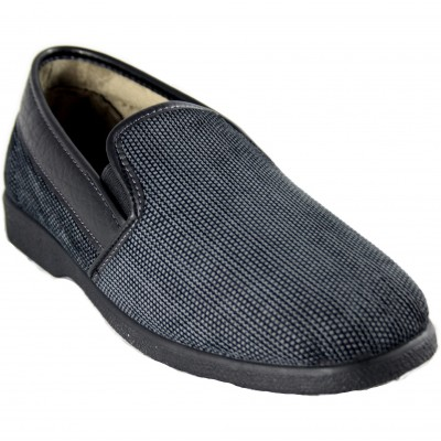 Rodevil 674 - Comfortable Navy Blue Men's Footwear With Synthetic Leather Finishes and Non-Slip Lining