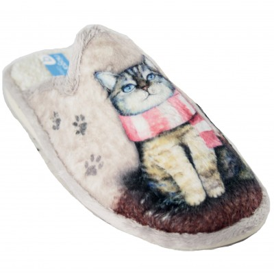 Niagara 6917 - Soft, Loving Cat or Dog Ultra Light House Slippers