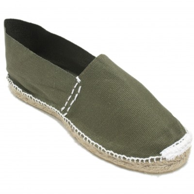 Espadrilles Camping Yellow Green