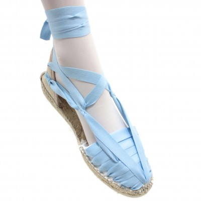 Espadrilles Set Vetes Light Blue