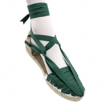 Espadrilles Set Vetes Dark Green