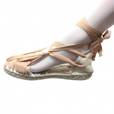Espadrilles Set Vetes Light Brown