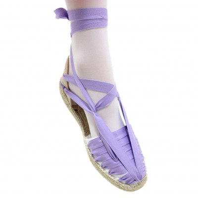 Espadrilles Set Vetes Light Lilac