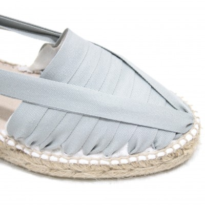 Heel Espadrilles Pintxo or Set Vetes Light Grey