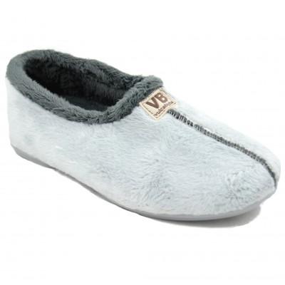 Vulcabicha 4306 - Women's Shoes Closed Soft Comfortable Flat Gray Colors