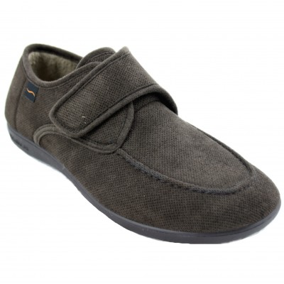 Doctor Cutillas 1510 - Closed Men's Slim Shoe by Special Large House with Velcro