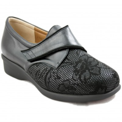 Alviflex 8350 - Women's Shoes Especially Comfortable with Printed Floral on the Toe