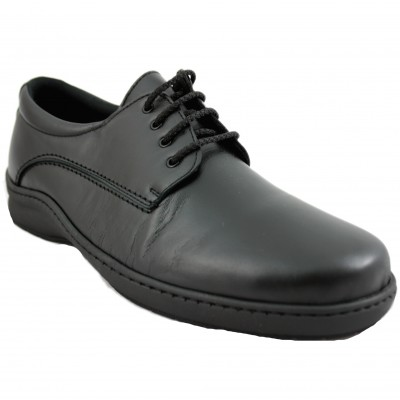 Pinosos 6789-H - Special Classic Men's Shoes for Diabetic Foot with Laces